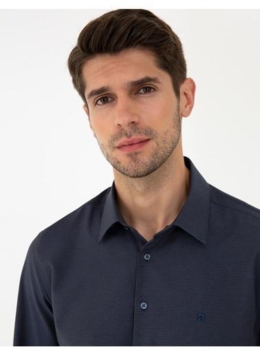 Pierre Cardin G021Gl004.000.1294438.Vr033 Gömlek Uzunk Lacivert